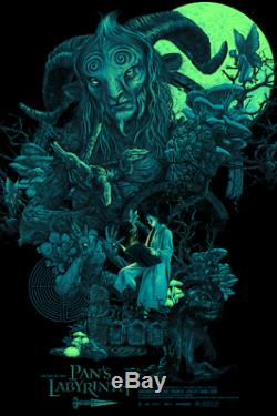 Pan's Labyrinth Vance Kelly Black Light Poster Screen Print Art 24x36 Mondo
