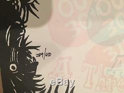 Phish Poster Print Jim Pollock Festival 8 Blacklight Indio, CA Glow In The Dark