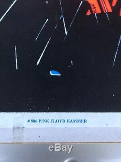 Pink Floyd The Wall vintage blacklight poster marching hammers psychedelic
