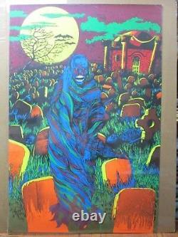 Prince of Darkness 1971 Black Light vintage Poster Large Inv#G2741