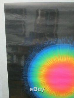Psychedlic Sun Black Light Vintage Poster Cng687