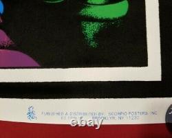 RARE Vintage 1995 Brandon Lee The Crow blacklight poster