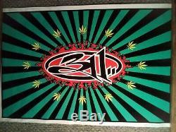 Rare Vintage 311 concert poster black light 23 x 35 year 1997