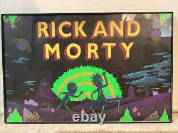 Rick And Morty 2013 Los Angeles Premiere Limited Rare Poster