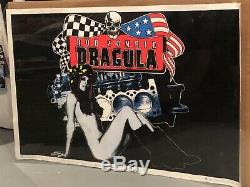 Rob Zombie Dragula Black Light Poster 1999, Very Rate