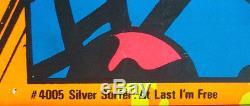 SILVER SURFER I'M FREE MARVEL THIRD EYE Black light poster TE4005 JACK KIRBY