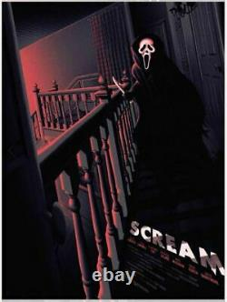 Scream Movie Melvin Mago Poster Screen Print Blacklight 18x24 Mondo