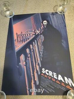 Scream Movie Melvin Mago Poster Screen Print Blacklight 18x24 Mondo RARE OOP 250