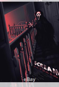 Scream by Melvin Mago Wondercon 2019 Mondo Poster Screen Print Blacklight 18x24