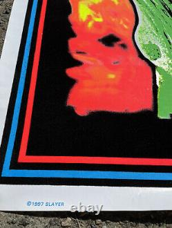 Slayer Root of all Evil Black Light Poster 1997 Rare Excellent Condition