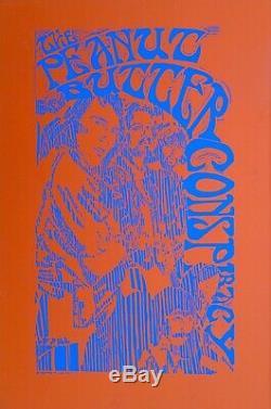 Special Six Original'67 Rock Posters, California Sound, Troubadour Bands