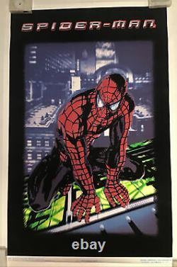 Spider-Man Rare Blacklight Poster