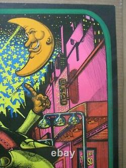 Steppin' out Black Light vintage Poster 1973 In#G6079