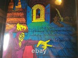 THE SORCERER 1971 VINTAGE PSYCHEDELIC POSTER By SENAO, PRO ARTS -NICE