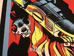 Texas Chainsaw Massacre Leatherface BlackLight Print Poster Mondo Movie Horror