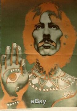 The Beatles Authentic Psychedelic 4 Posters Richard Avedon 1967 Look Magazine