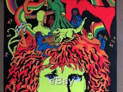 The Door Of Enchantment Original Vintage Blacklight Poster Jim Morrison Doors