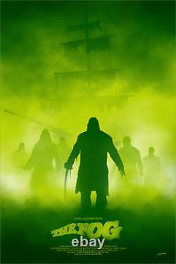 The Fog John Carpenter Limited Screen Print Blacklight Art Poster #55 24 x 36
