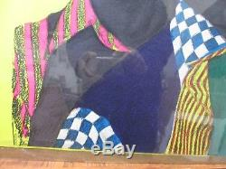 The Jackson 5 Vintage Black Light Poster 1971 Inv#G3546