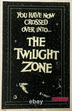 The Twilight Zone Blacklight Vintage Poster 1989 23 x 35 You Have Now Crossed O