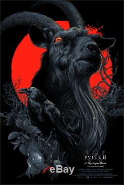 The Witch VVitch Black Phillip Blacklight Vance Kelly Poster Mondo Hero Complex