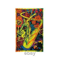 Third Eye Silver Surfer I'M FREE Marvel Black light poster #4005 Jack Kirby Li