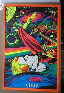 Thor Astral Marvel Third Eye Original Blacklight Poster Te4006 Jack Kirby 1971