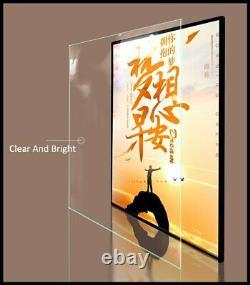US STOCK Restaurant Store LED Movie Poster Light Box illuminated Display Frame