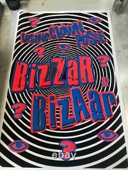 VINTAGE BLACKLIGHT POSTER #1803 ICP Bizzar Insane Clown Posse Scorpio Posters