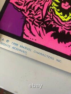 VINTAGE BLACKLIGHT POSTER #402 Ghost Rider 1996 Funky Enterprises Marvel Comics