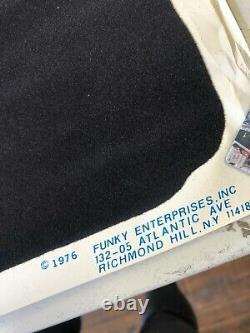 VINTAGE BLACKLIGHT POSTER #926 Skull 1976 Funky Enterprises RARE Horror Misfits
