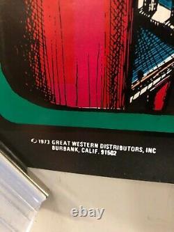 VINTAGE POSTER 1973 The Midnite Rider American Marijuana Distributors Weed