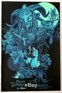 Vance Kelly El Fauno Pans Labyrinth Art Print Black Light Poster HCG Mondo