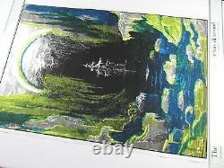 Vintage 1971 ANCIENT MARINER Blacklight Poster Ship Boat Samuel Coleridge NOS