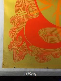Vintage Acapulco Gold Blacklight Poster 23x35 1967 Artko Studios Olson Boehret