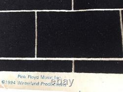 Vintage Original 1994 Pink Floyd The Wall Screamin Heads BlackLight Poster RARE