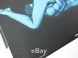 Vintage TOGETHERNESS 69 Sixty Nine Psychedelic Blacklight Poster 1970 RARE FIND
