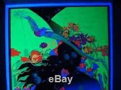 Vintage ZEPHYR blacklight poster psychedelic Jupiter Rubin Third Eye 1970 NOS