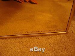 Vintage gold mylar GOLDILOCKS Blacklight Poster Warhol Foil Bondage 1971 NOS