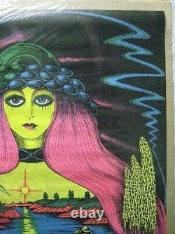Virgin Waters 1971 Blacklight Vintage Poster Garage Cng938