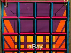 Window Original Vintage Blacklight Poster Third Eye Clark Svensen 1969 Pinup