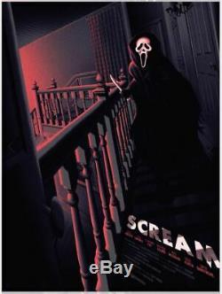 Wondercon 2019 Scream Melvin Mago Poster Screen Print Blacklight 18x24 Mondo